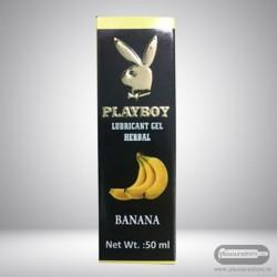Playboy Lubricant Water Based Gel - Banana Flavoured CGS-031