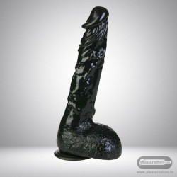 8 inch Black Dildo With Suction Cup DNV-018